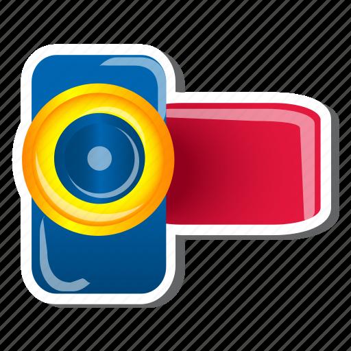cinema, film, media, movie, multimedia, video, video recorder icon