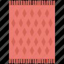carpet, doormat, floor carpet, mat, rug icon