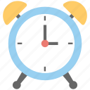 alarm clock, clock, table clock, timepiece, timer icon