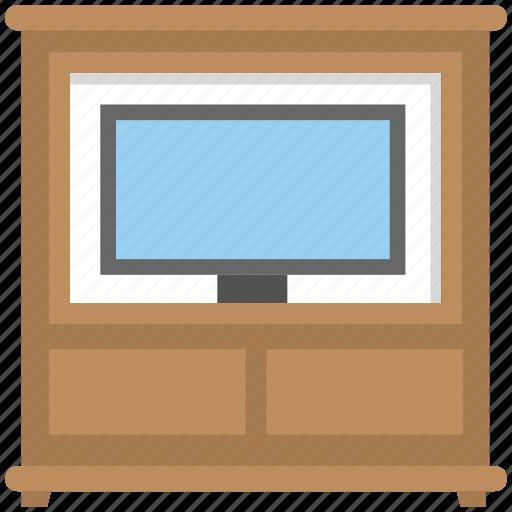 furniture, home interior, tv stand, tv trolley, tv unit icon
