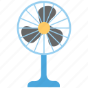 charging fan, electric fan, fan, pedestal fan, table fan icon