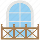 architectural element, balcony, building and structure, jharoka, overhanging balcony icon