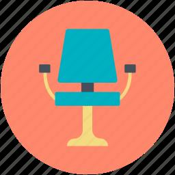 armchair, chair, makeup artist chair, parlor chair, spa chair icon
