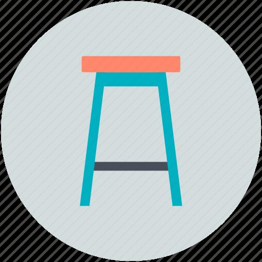 bar stool, furnishing, furniture, restaurant furniture, seating icon