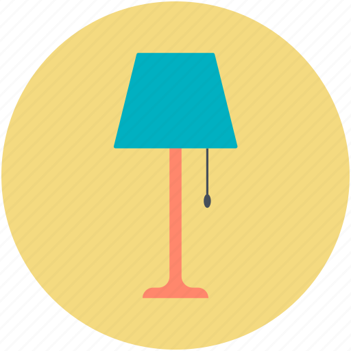 Electric, floor lamp, lamp, lamp light, living room lamp icon - Download on Iconfinder