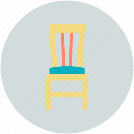 Chair, desk chair, dining chair, furniture, seat icon - Download on Iconfinder