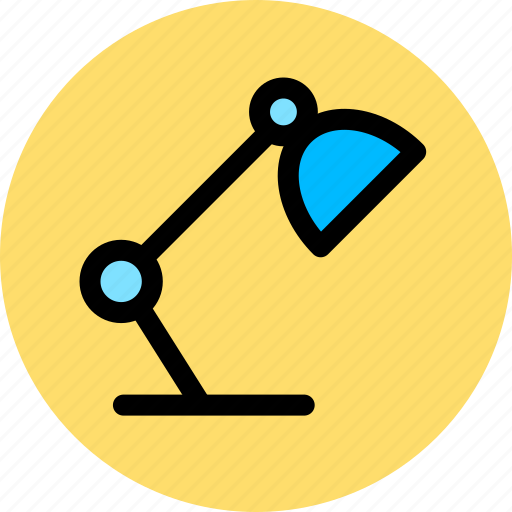 lamp, learning, office, work icon