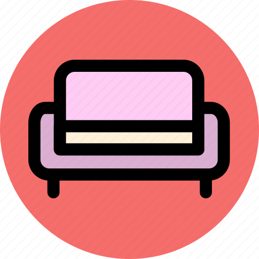 chair, furniture, home, interior, sofa icon