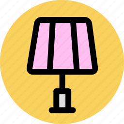 furniture, households, interior, lamp icon
