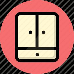 furniture, household, wardrobe icon