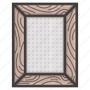 frame, photo, wooden icon