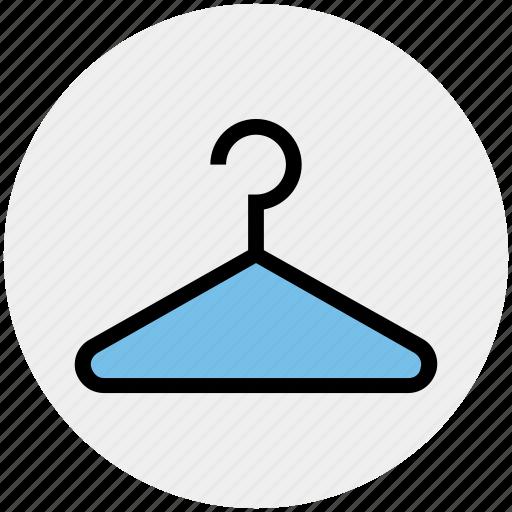 cloth, clothes, clothing, fashion, hanger, shop, towel hanger icon