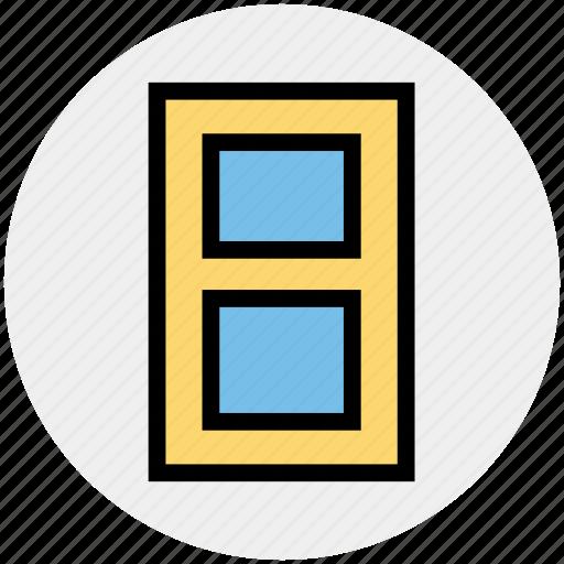 close, door, enter, exit, house door, logout, real estate icon
