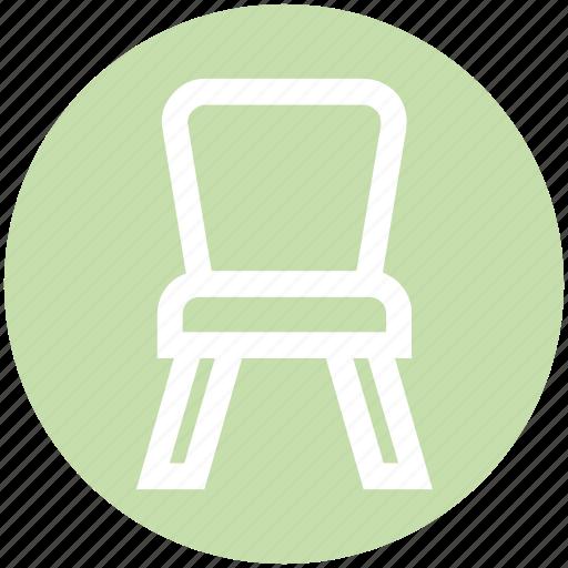 armchair, chair, desk, furniture, kitchen, seat, stool icon