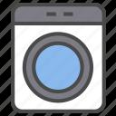 electric appliance, washer, washing machine icon