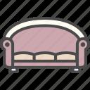 chair, settee, sofa icon