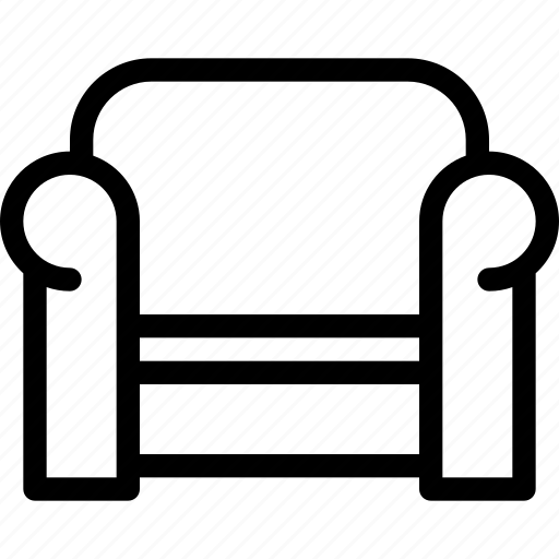 furniture, interior, office, seat, sofa icon