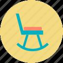 chair, furniture, oak furniture, rocker chair, rocking chair