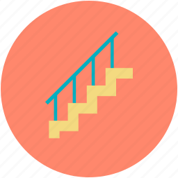 home renovation, indoor stairs, staircase, stairs, stairs design icon