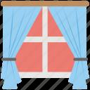 balcony, glass window, home window, living room, window icon