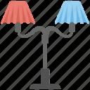decorative floor lamp, electric lamp, fancy lights, floor lamp, home decoration icon