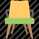 armchair, chair, furniture, garden chair, lounge chair icon