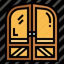 construction, door, furniture, open