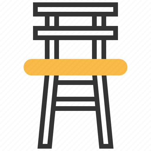chair, child, children, furniture, interior, seat icon