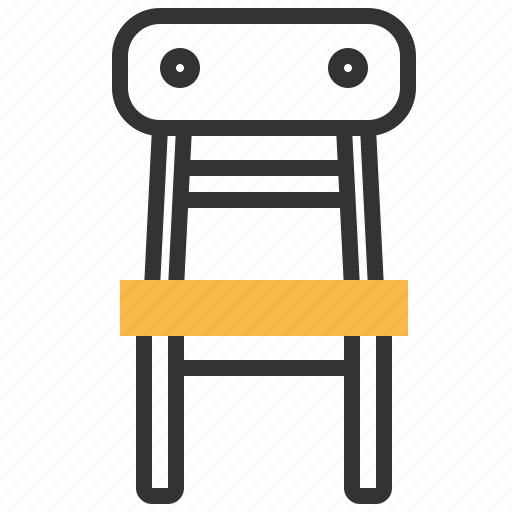 chair, child, furniture, interior, kid icon