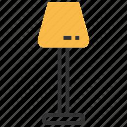furniture, interior, lamp, sign icon