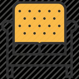 chair, furniture, seat, sofa icon