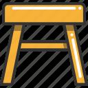 chair, furniture, seat, stool
