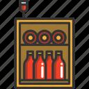 alcohol, drink, glass, minibar, wine