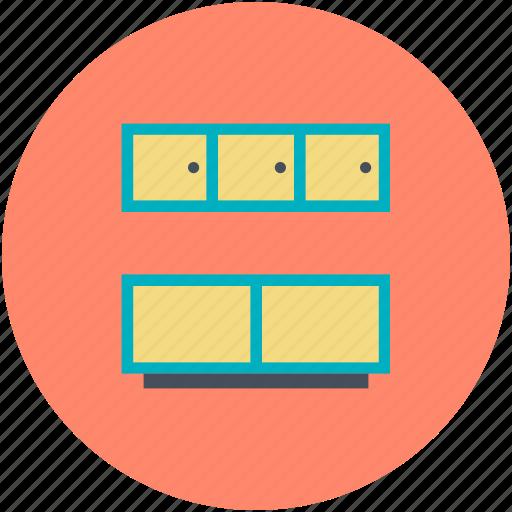 kitchen, kitchen cabinets, kitchen counter, kitchen furniture, kitchen interior icon