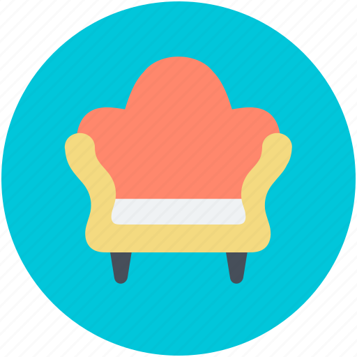couch, furniture, seat sofa, settee, sofa icon