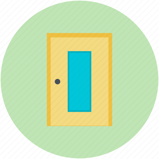 Bedroom door, closed door, door, doorway, entrance icon - Download on Iconfinder