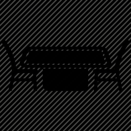 chair, desk, furniture, interior, office, seat icon