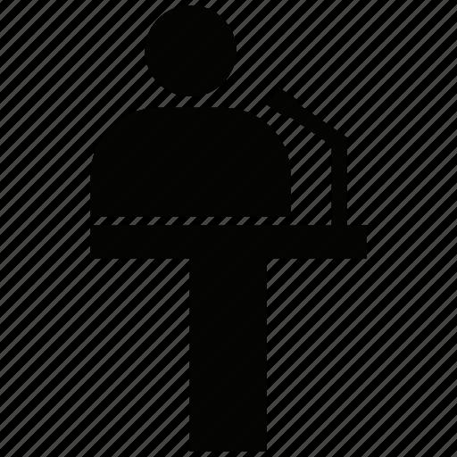 dice, on stage, presenter, speaker icon