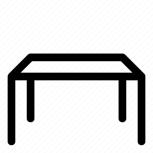desk, furniture, home, interior, living room, table, workplace icon