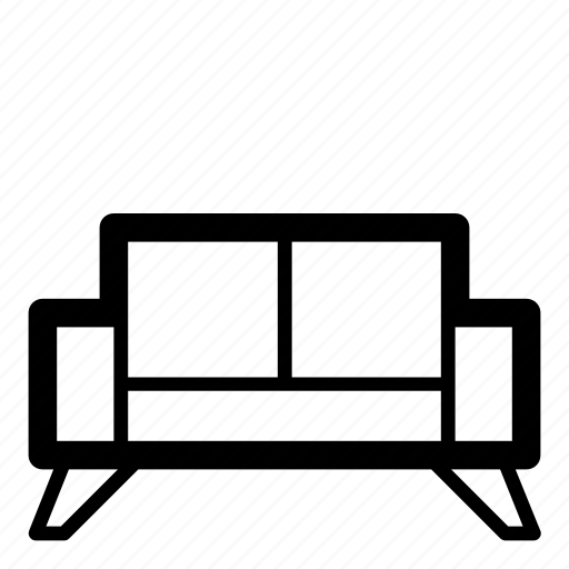 bed, couch, furniture, home, interior, sleep, sofa icon