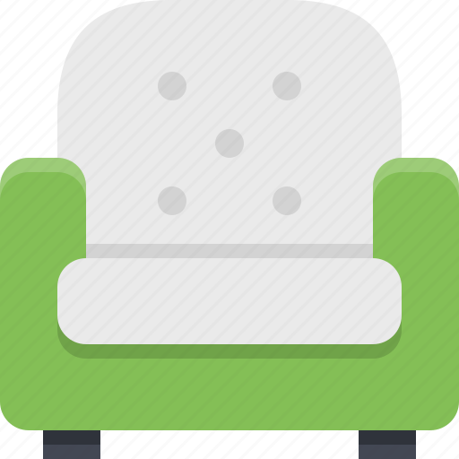 armchair, comfort, comfortable, furniture, interior, resting, sitting icon