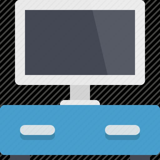 appliance, furniture, interior, technology, television, tv, tv set icon