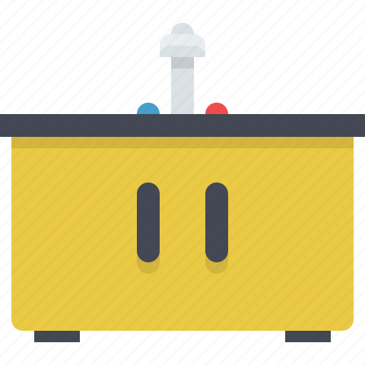 appliance, bathroom, kitchen, washbasin icon