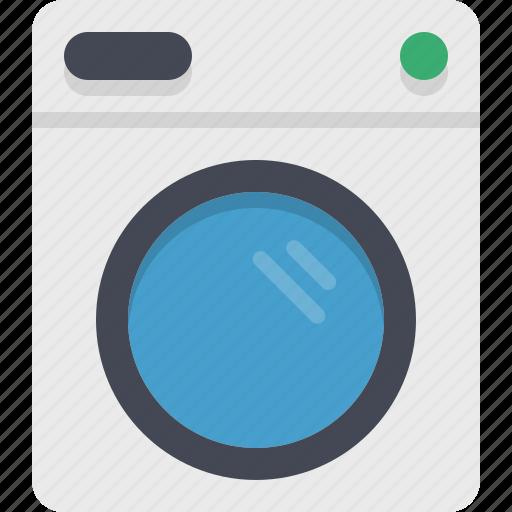 appliance, kitchen, washing, washing machine icon