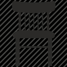 chair, furniture, kitchen, stool icon