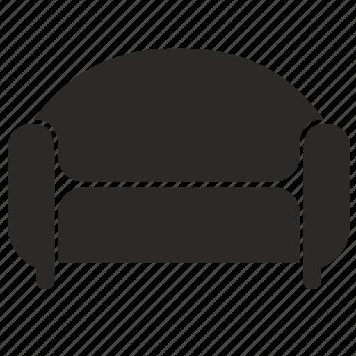 armchair, chair, furniture, lounge icon