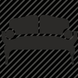 furniture, interior, table, vintage icon