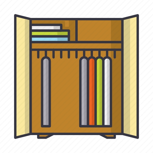 chest, cupboard, dresser, furniture icon