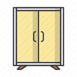 cupboard, dresser, furniture, wardrobe icon