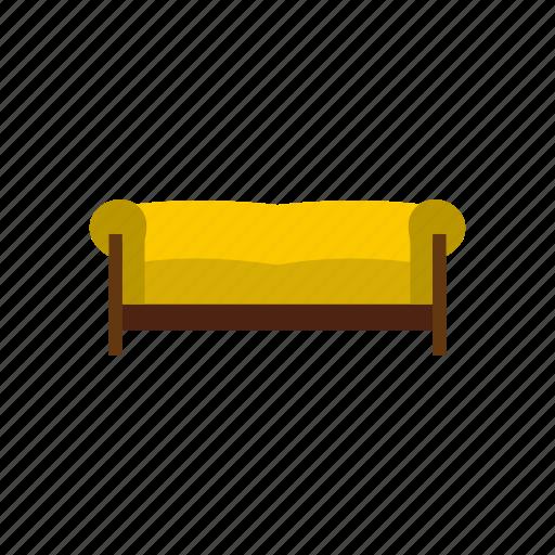 comfortable, furniture, home, interior, modern, seat, sofa icon